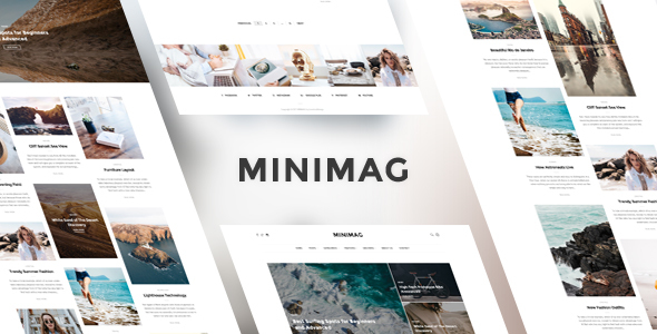 MiniMag – Magazine and Blog WordPress Theme – GPL