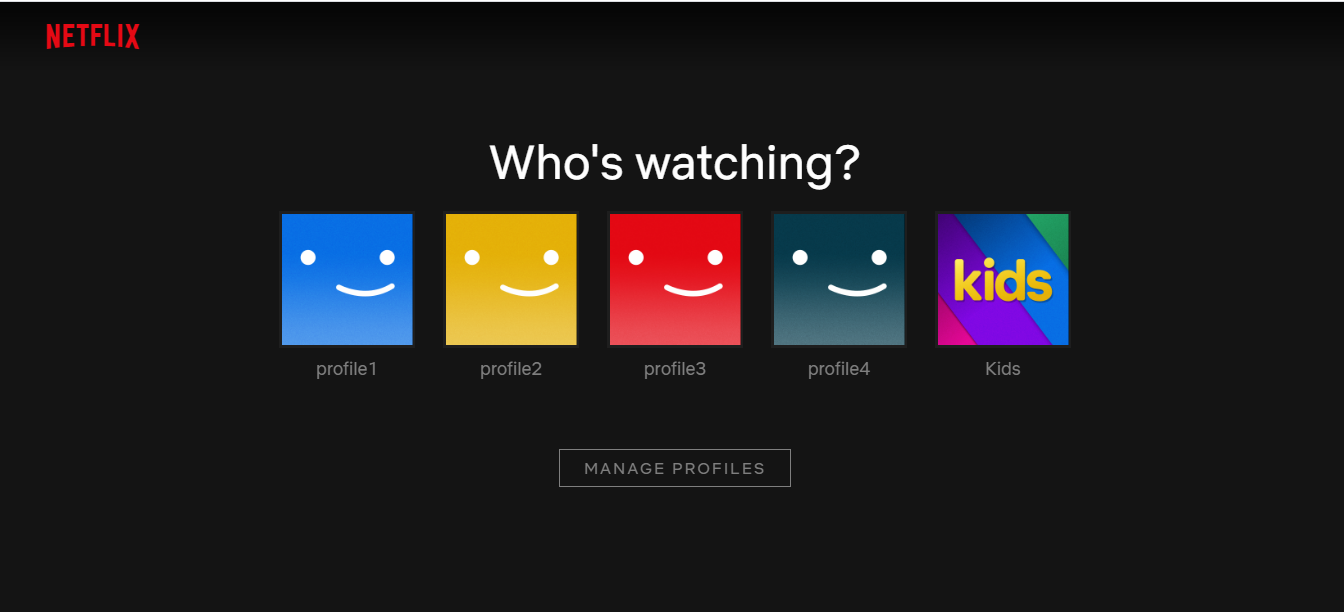 Netflix Private one month 5 acc for 18 $