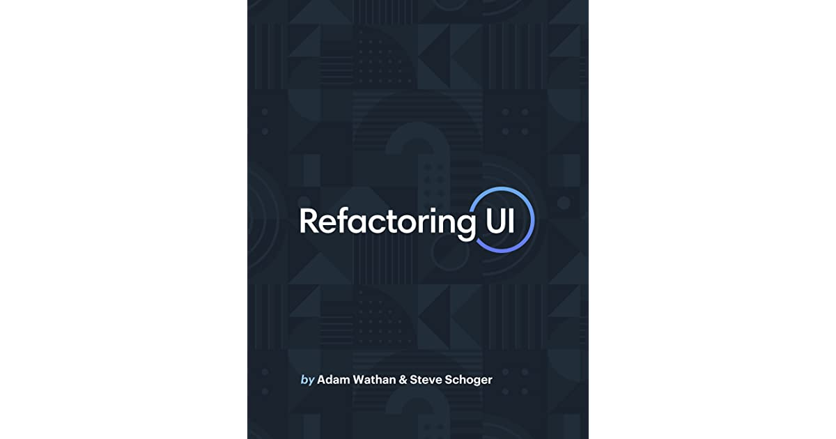 Refactoring UI – Complete Package + Video