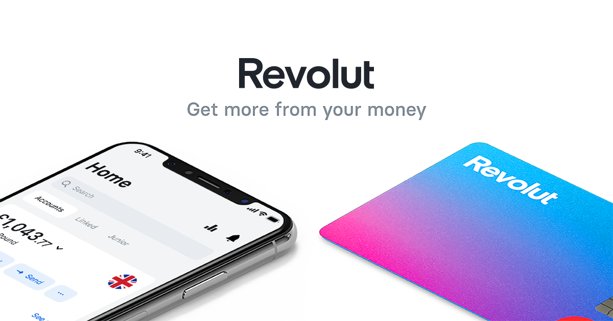 Accounts Revolut personal (fully verifeds)