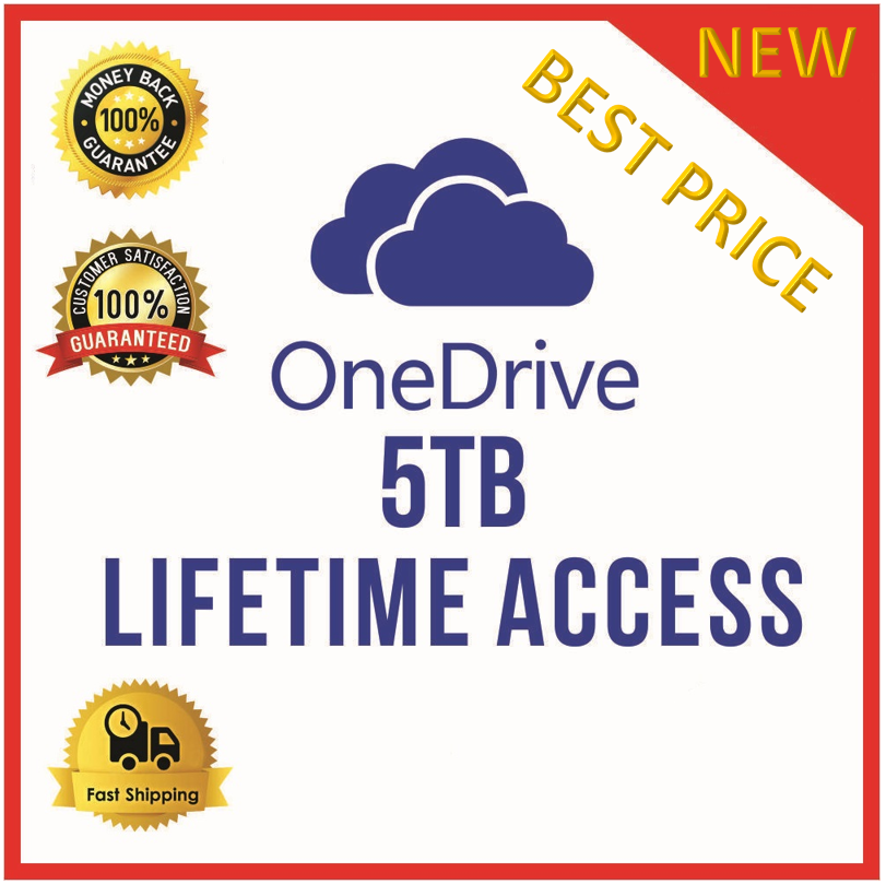 Microsoft OneDrive 5TB ✔️ LifeTime Account | Off...