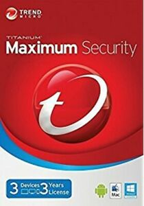 Trend Micro Maximum Security 1 Year 1 Device