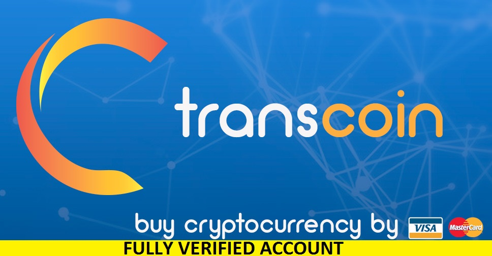 Fully Verified TransCoin Account (RU) – $45