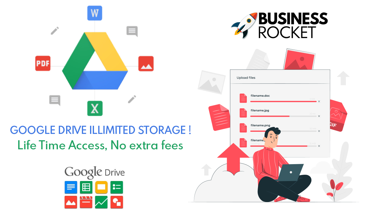 🔥 Google Drive Unlimited Storage - Lifetime Guara...
