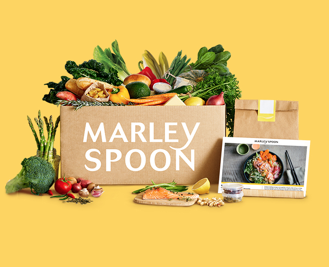 [BELGIUM] Marley & Spoon 100% OFF discount code
