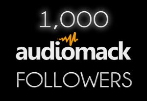 1000 Audiomack Followers