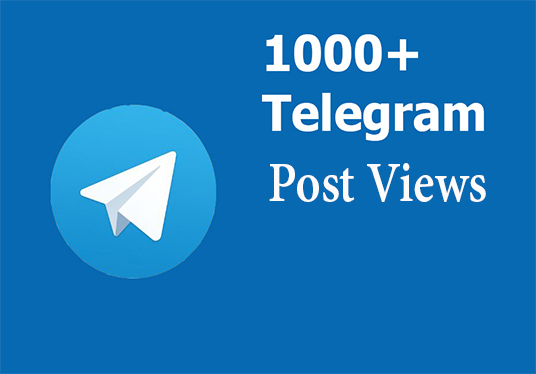 1000 Real Telegram Post Views