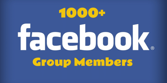 1000 Facebook GROUP MEMBERS | Only $15 | HQ 🔥