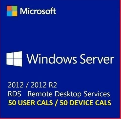 Windows Server 2012 R2 Standard + RDS User/Device CALs