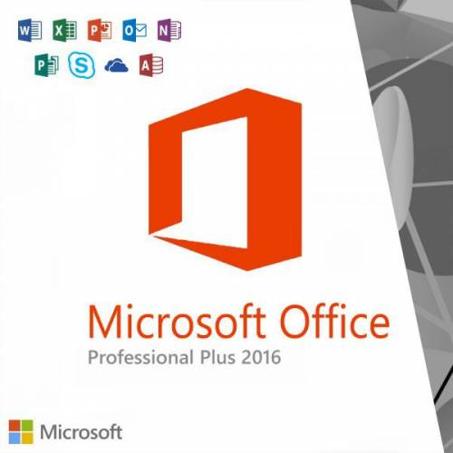 Microsoft Office Professional Plus 2016 32/64 Bit 1 PC