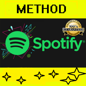 SPOTIFY PREMIUM -  FREE UNLIMITED ACCOUNTS - METHOD