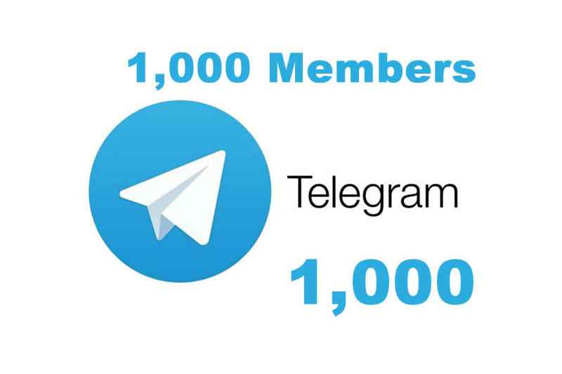 1000 Real Telegram Channel Members