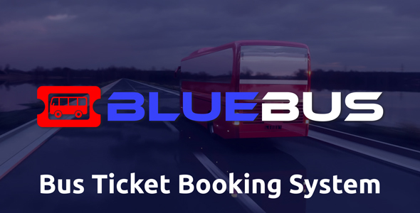 BlueBus - Bus Ticket Booking System