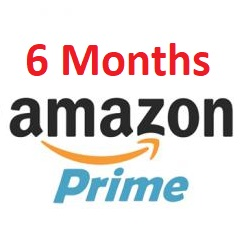 6Months Free Amazon Prime account (Free Prime Delivery)