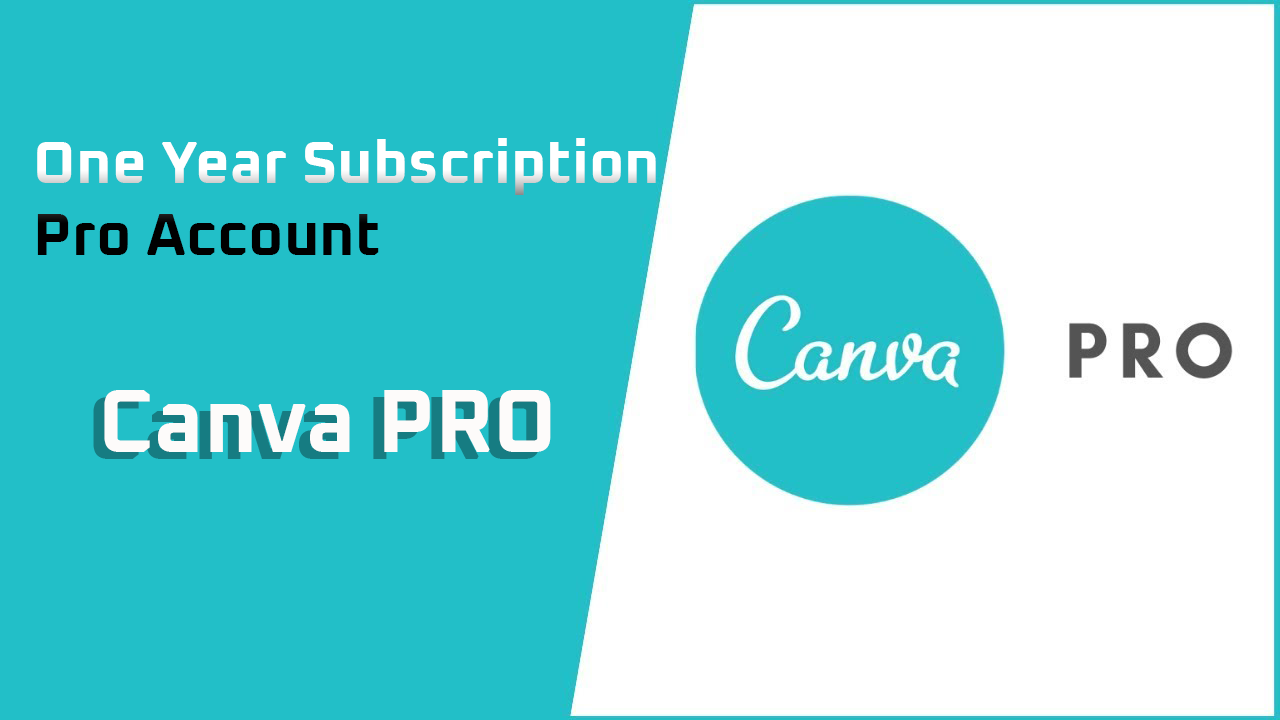 Canva Pro Account For 1 Year [With Warranty]