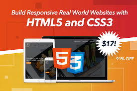 Build responsive real website HTML5 CSS3