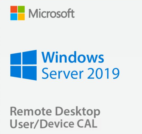 Windows Server 2019 Standard + RDS User/Device CALs