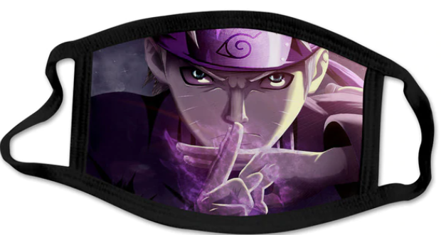 Naruto Face Mask - Washable