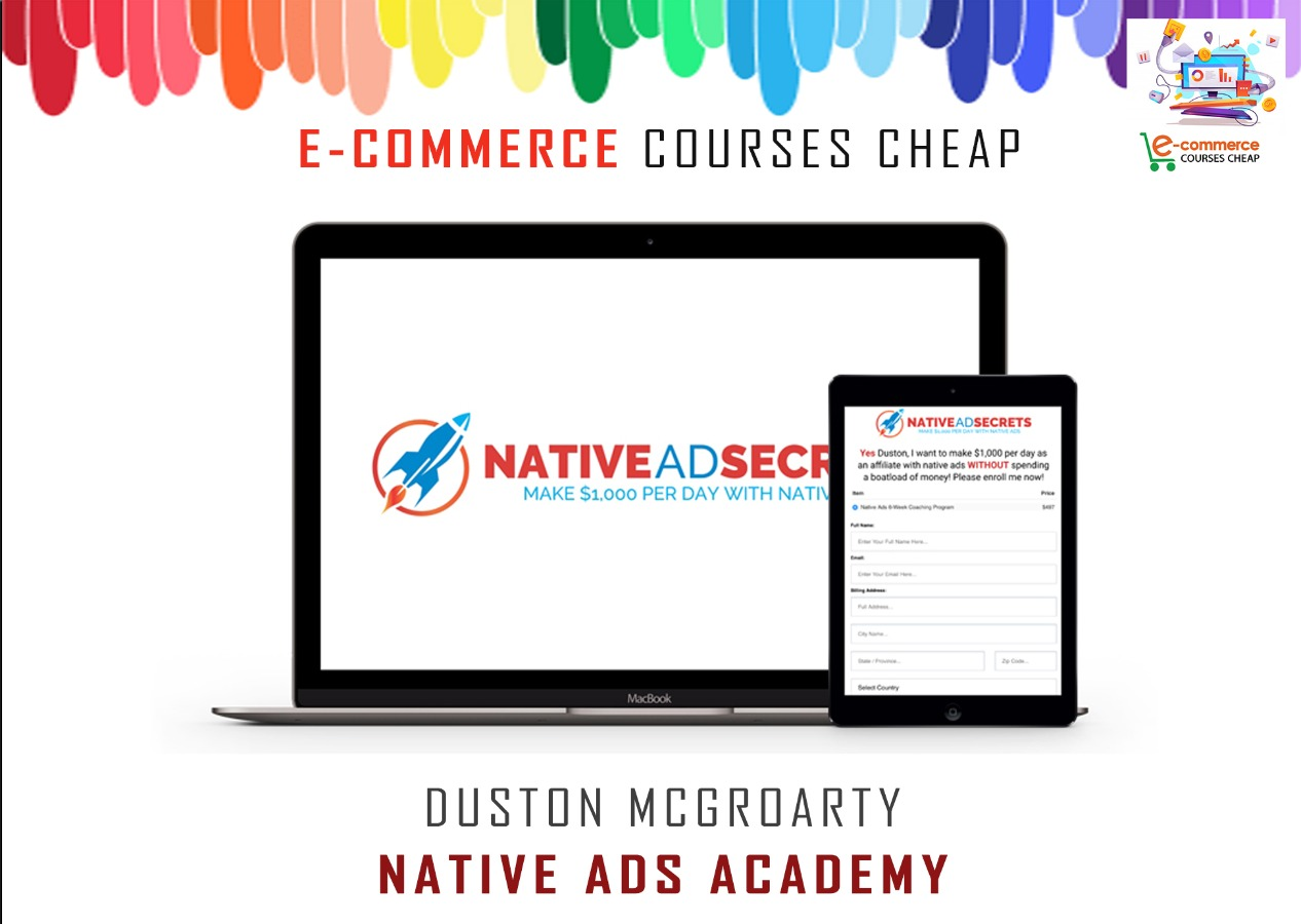 Duston McGroarty - Native Ads Academy