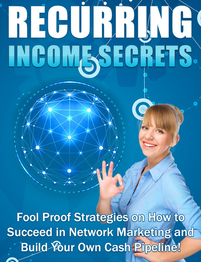 Recurring Income Secrets |  Best Methods Online