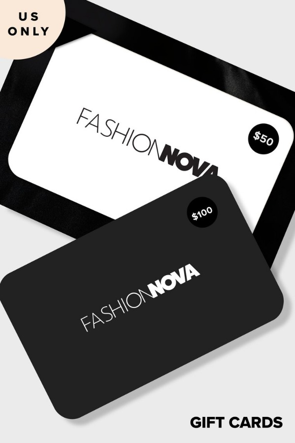 Fashion Nova gift card 100$