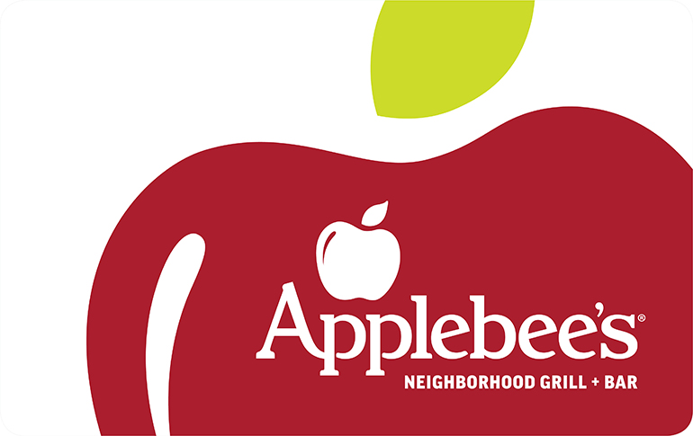 Applebee's gift card 250$(10*25$)