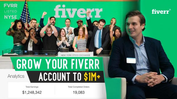 Grow Your Fiverr Account To $1M - Hustle Fiverr [$697]