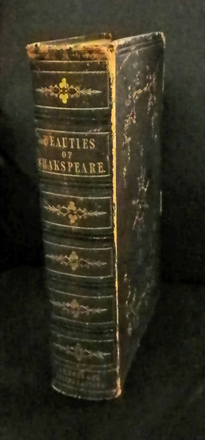 Antique Book - 'Beauties of Shakespeare'