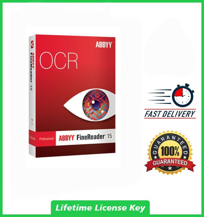 ABBYY FineReader 15✔️LifeTime License✔️Best ...
