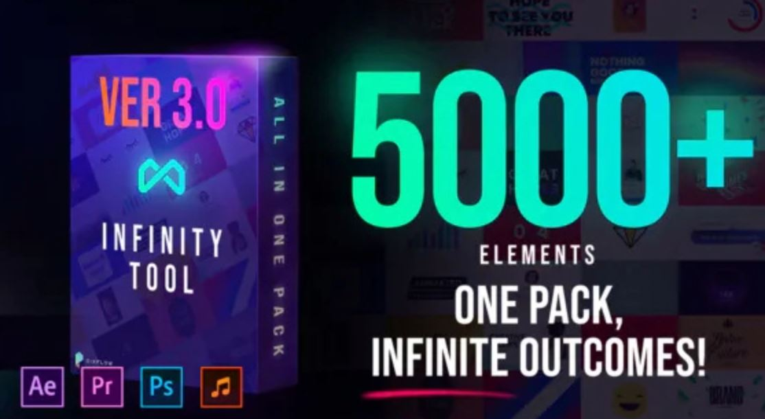 Infinity Graphic Pack | Expensive Leak