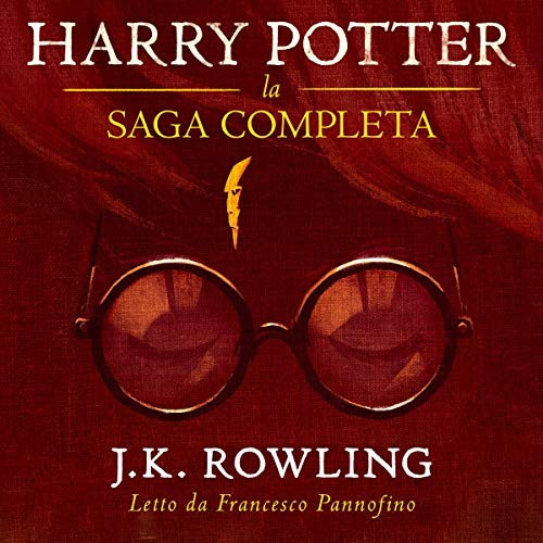 Harry Potter: La Saga Completa 1-7 Italian [AUDIOBOOK]