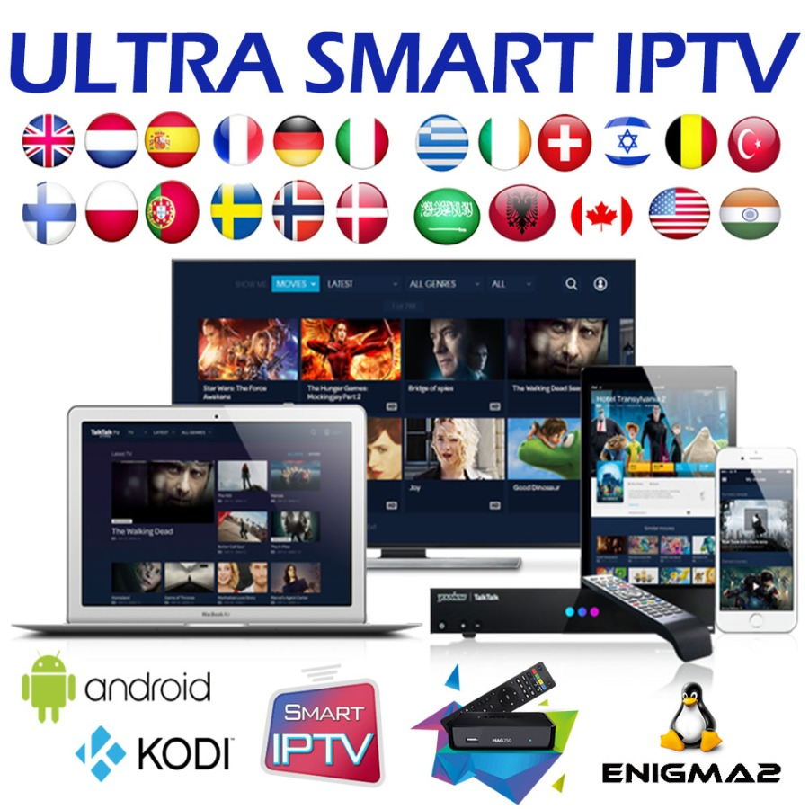IPTV Suscription 9000+ Channels - 12 months - Test 24h