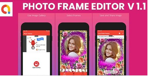 Photo Frame Editor - Android Apps | AdMob