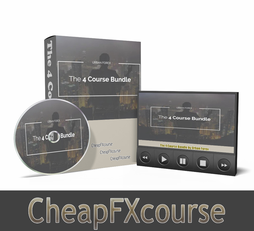 The 4 Course Bundle by Urban Forex