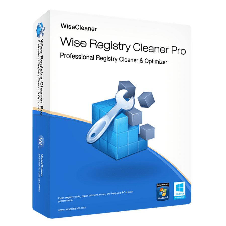Wise Registry Cleaner Pro – License - Lifetime
