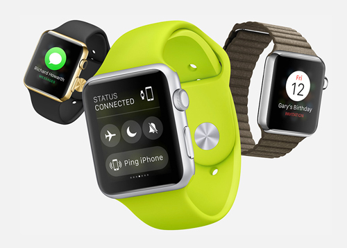 Apple Watch landing page for cpa offers