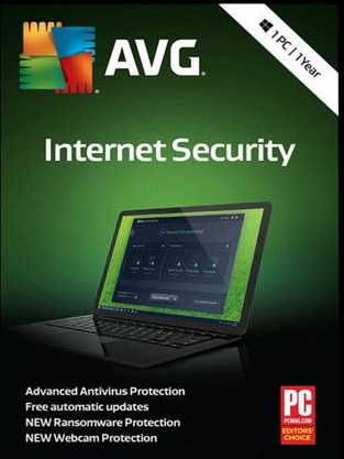 AVG Internet Security 1 Year Auto Renew.