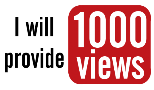 1000 Real Youtube Views