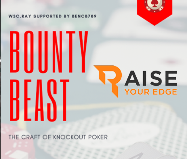 Sale BOUNTY BEAST RAISE YOUR EDGE with W3cray for Cheap