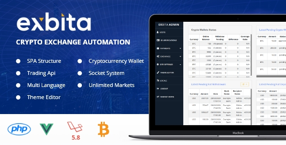 Exbita – Crypto Currency Exchange Platform