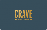 Crave 100$ E-Gift Cards (Email Delivery)