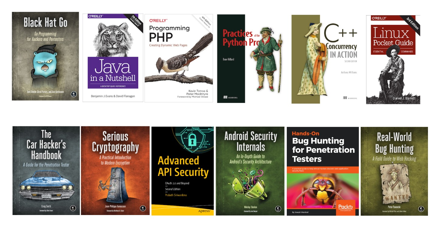 100 of most wanted programming and hacking ebooks