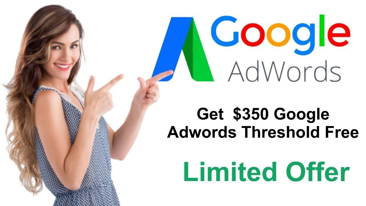 Approved Google Adwords Account! $350 Threshold