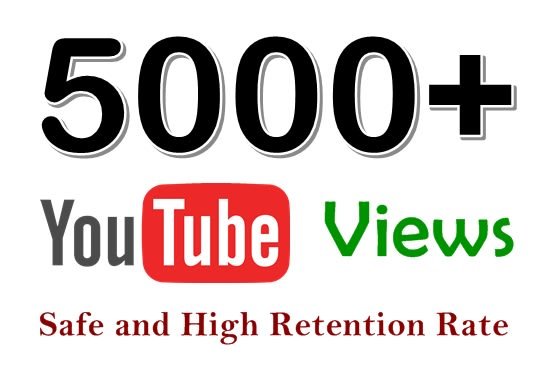 5000 Real Youtube & Active Views
