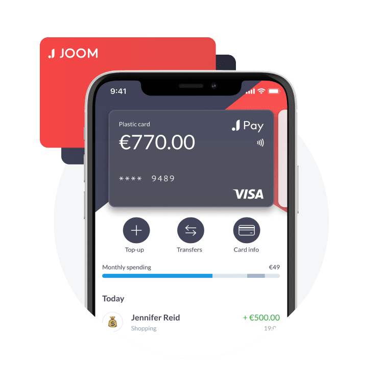 Joompay verified account with Physical card