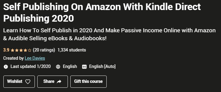 Make Money On Amazon - Kindle Direct Publishing in 2020