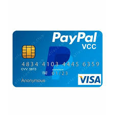Card VCC for PayPal Verification