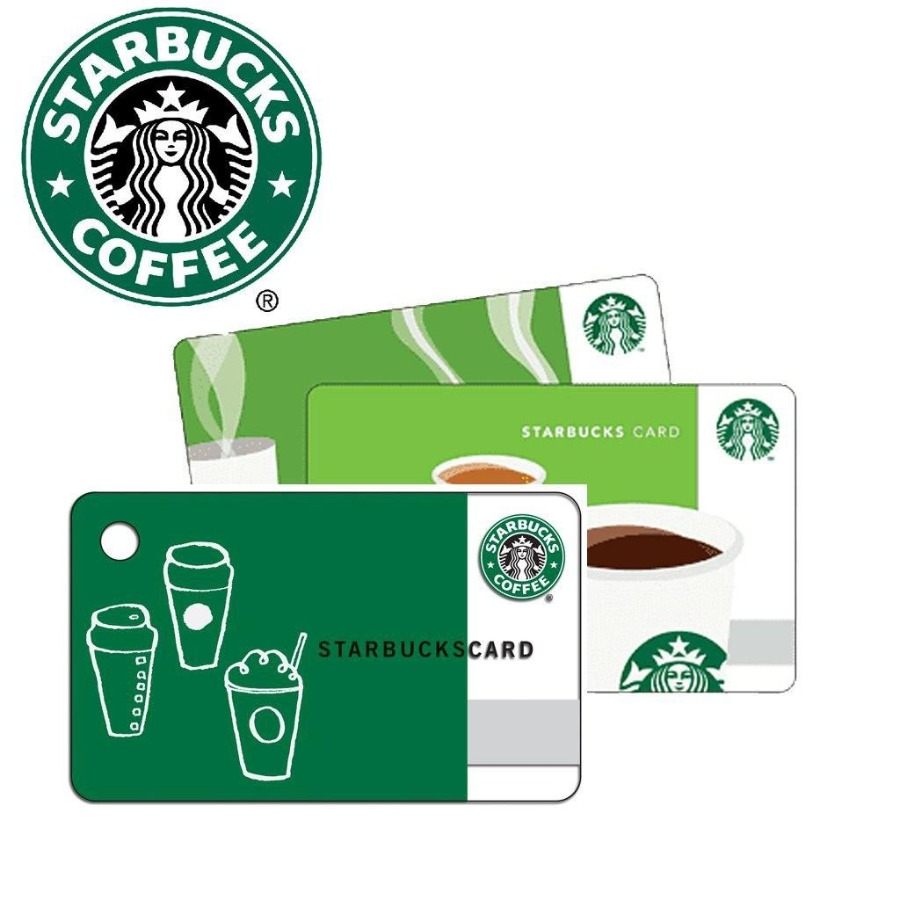 50$ Starbucks GC w/Pin