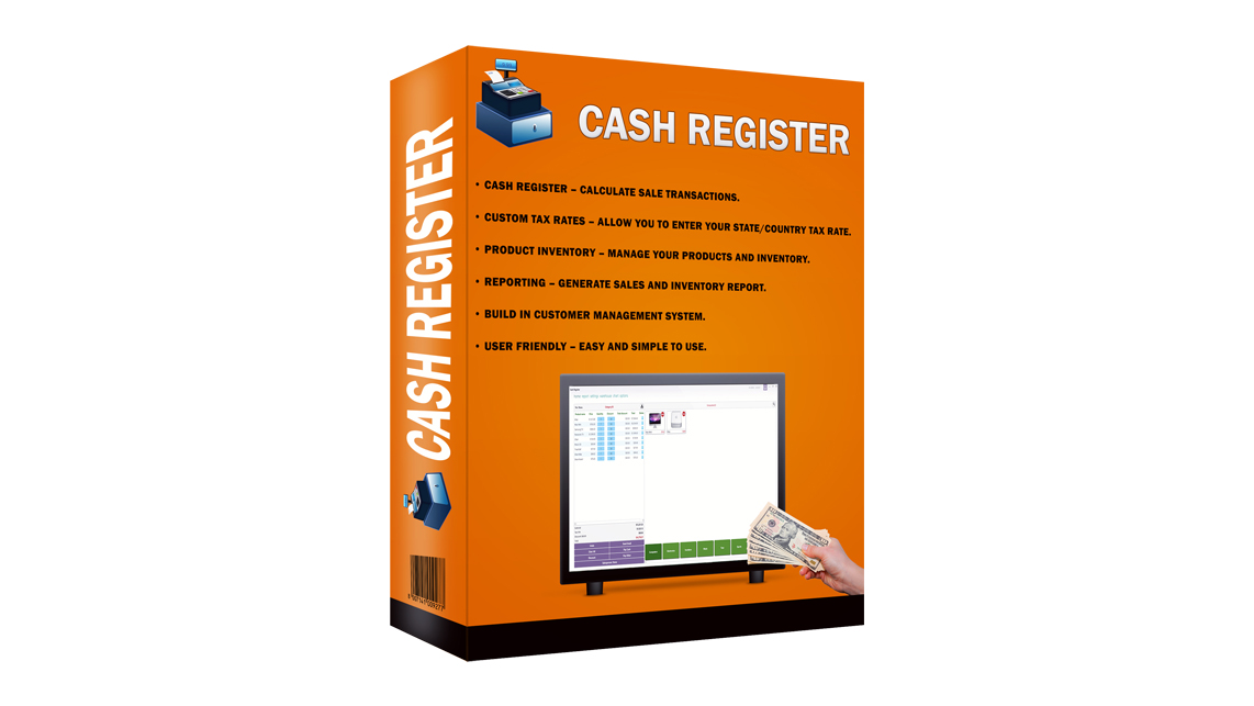 Cash Inventory Software (POS) For your Shop