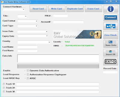 EMV Reader/Writer v8.6 ( EMV Software)